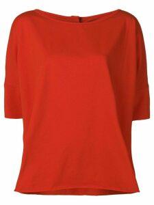 Stefano Mortari oversized T-shirt - Red