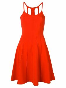 Dsquared2 fitted sleeveless dress - Orange