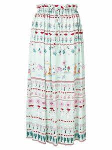 Vivetta high-waist pleated skirt - Blue