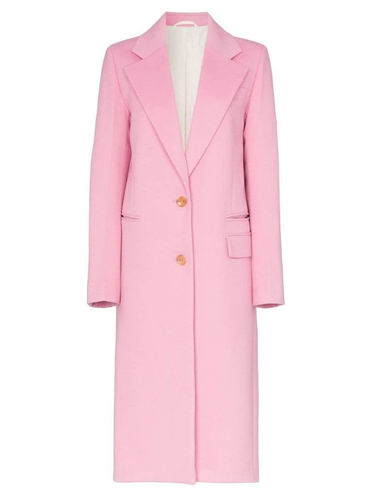 Joseph Magnus single-breasted coat - Pink