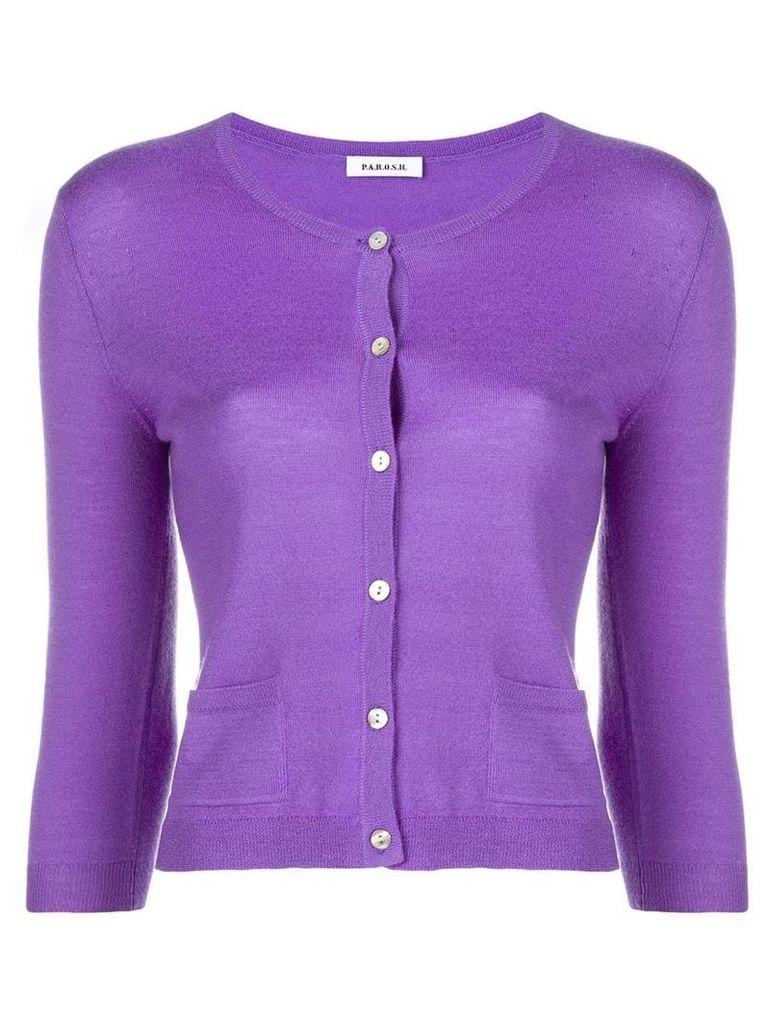 P.A.R.O.S.H. Wondering cardigan - Purple