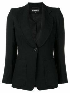 Ann Demeulemeester classic blazer - Black
