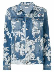 P.A.R.O.S.H. floral print jacket - Blue