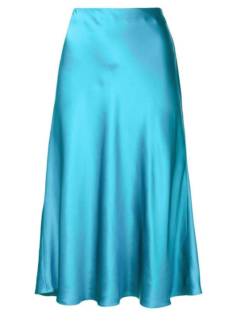 Cinq A Sept Marta sheen mid skirt - Blue