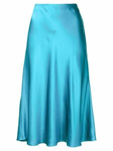 Cinq A Sept Marta sheen mid skirt - Blue