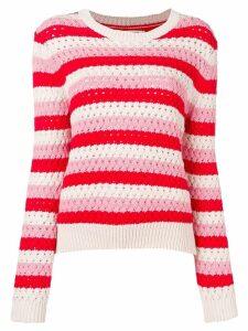 Chinti & Parker crochet-knitted sweater - Neutrals