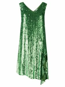P.A.R.O.S.H. sequinned cocktail dress - Green
