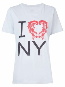 Rosie Assoulin slogan T-shirt - Blue