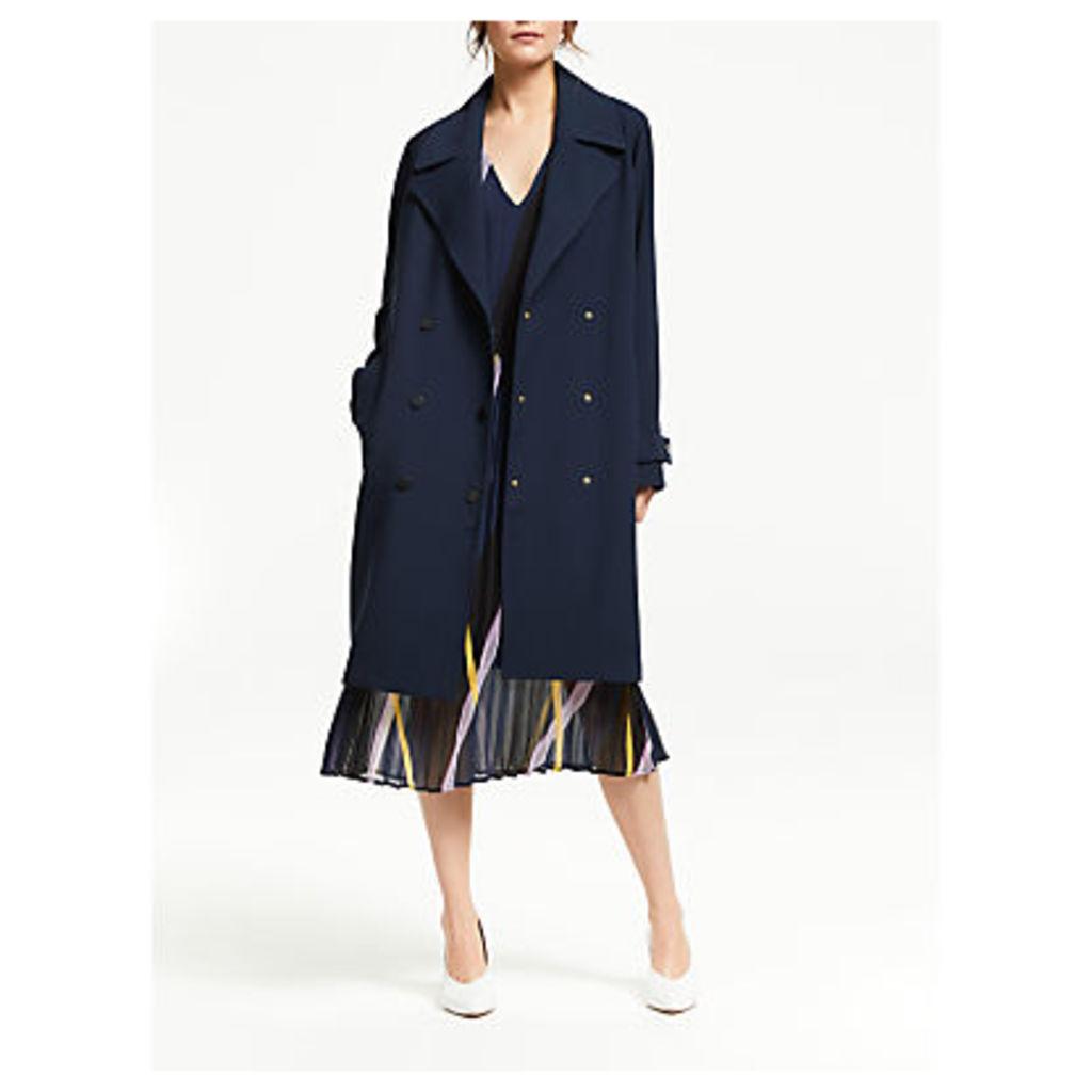Second Female James Coat, Maritime Blue