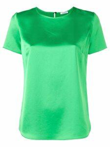 P.A.R.O.S.H. satin T-shirt blouse - Green