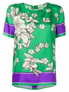 P.A.R.O.S.H. floral print blouse - Green