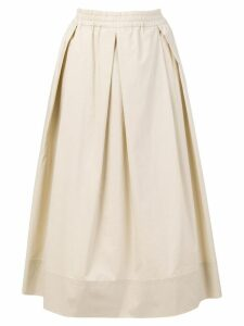 Fay flared skirt - Neutrals