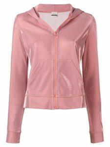 Pinko lurex hoodie