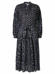 Ulla Johnson floral print midi dress - Blue
