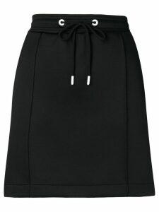 Kenzo logo tape mini skirt - Black