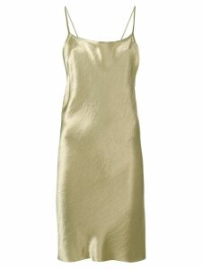 Ann Demeulemeester midi slip dress - NEUTRALS