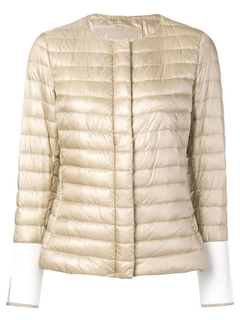 Herno quilted jacket - Brown