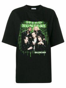 Balenciaga Speedhunters T-shirt - Black