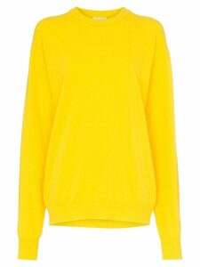 Calvin Klein Jeans Est. 1978 logo bio print sweater - Yellow