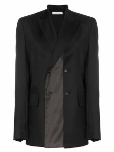 Delada Double-breasted blazer - Black