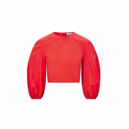 Hayley Menzies - Leopardess Jumper - Red