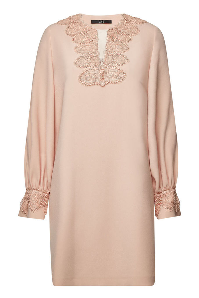 SLY010 Embroidered Mini Dress