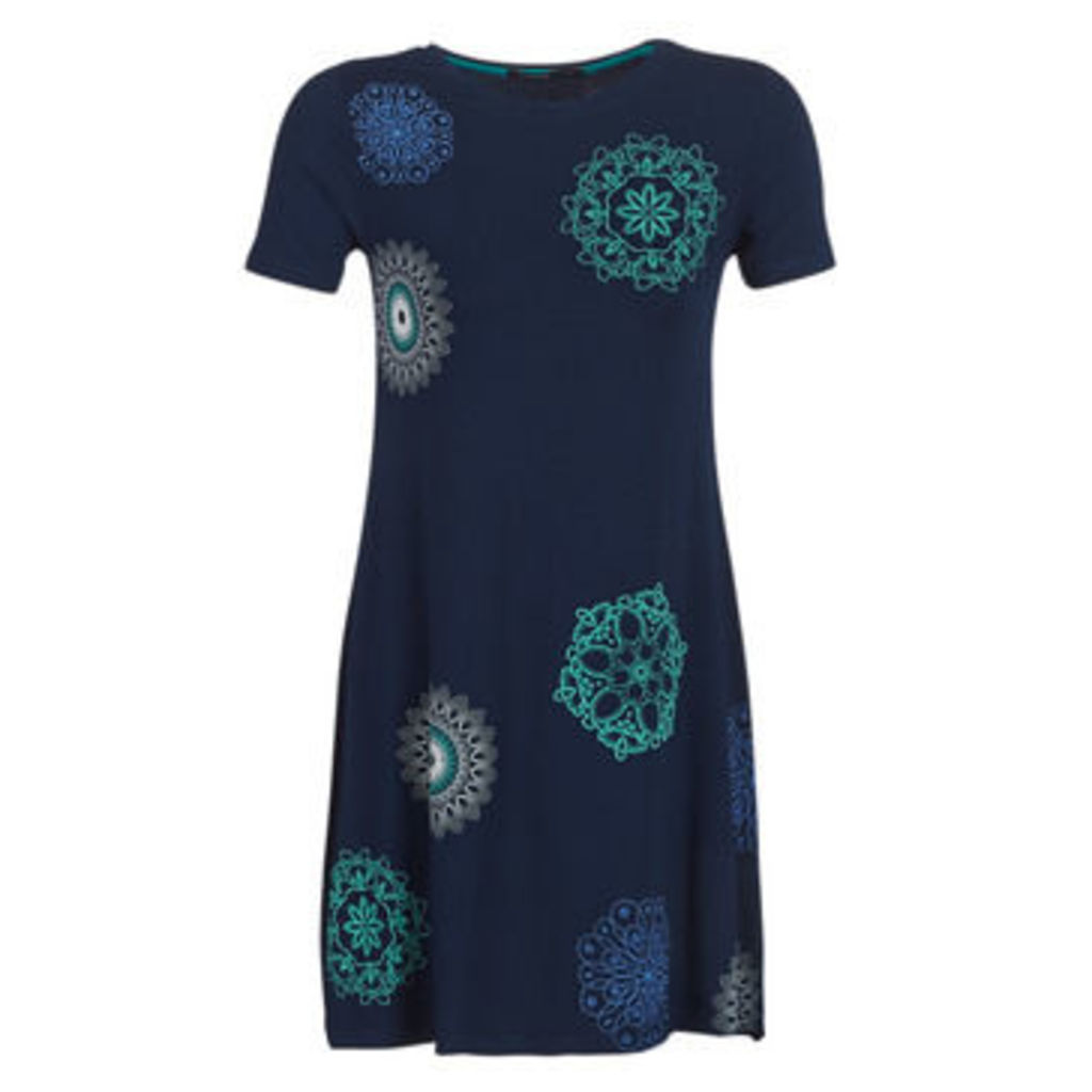 Desigual  LIRICAA  women's Dress in Blue