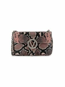 Poisson Python-Embossed Leather Crossbody Bag