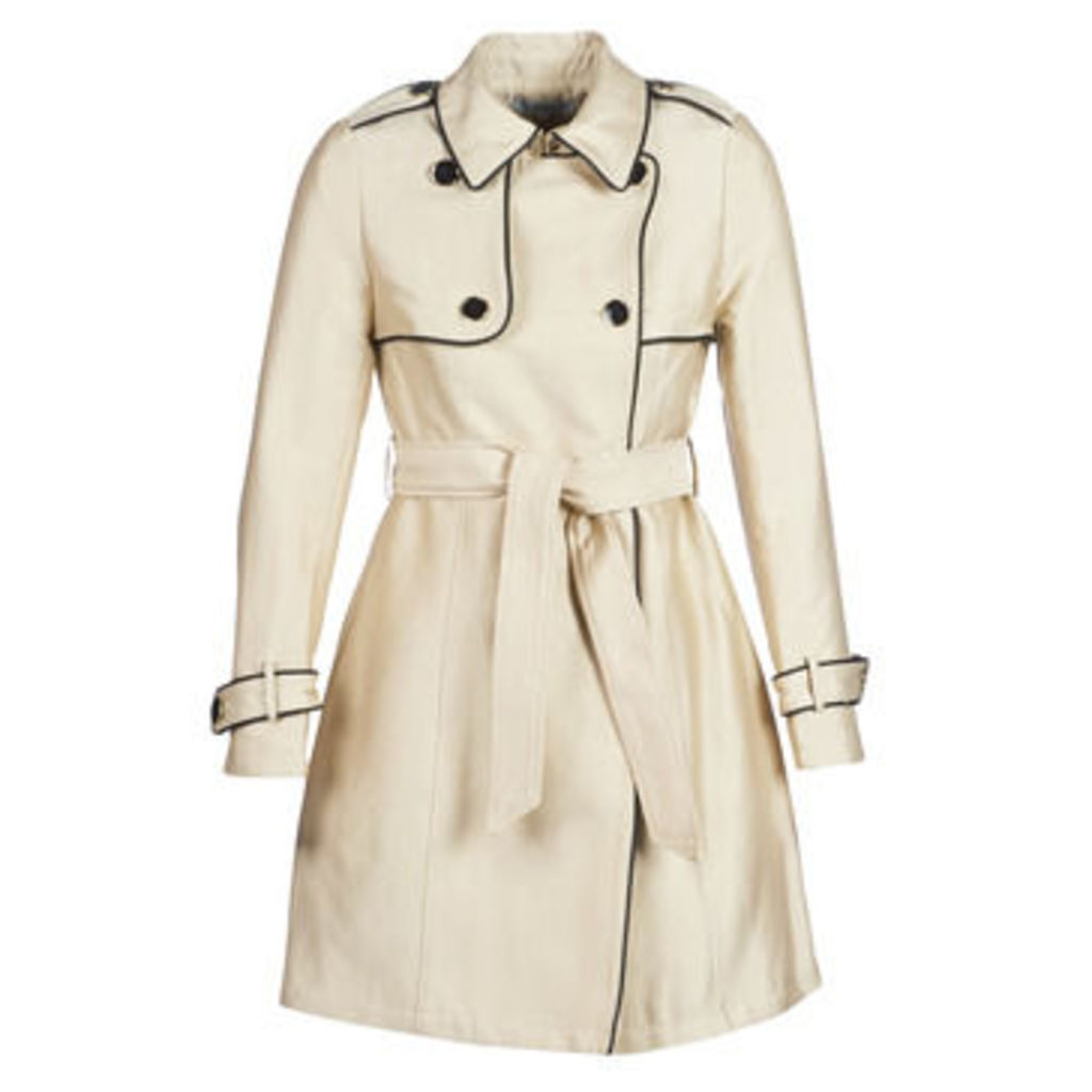 Morgan  GINGER  women's Trench Coat in Beige
