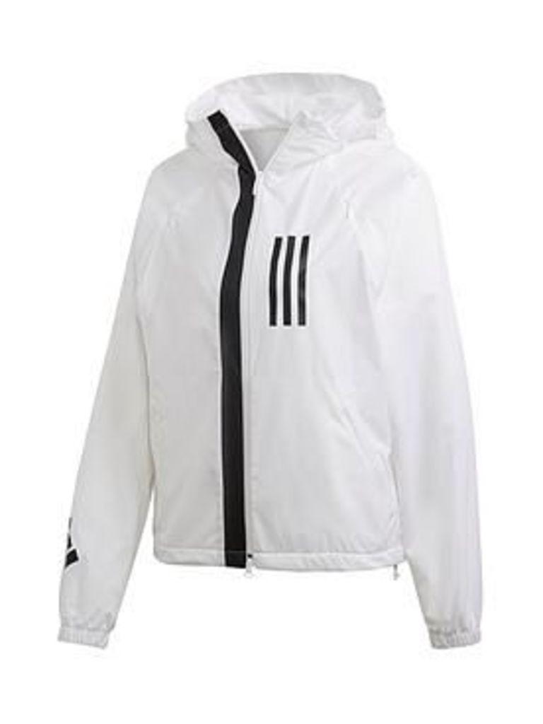 Adidas Winners Wnd Jacket - White