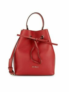 Costanza Leather Bucket Bag