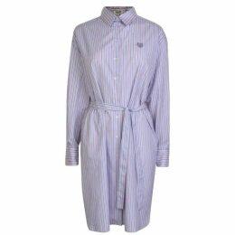 Kenzo Striped Midi Shirt Dress