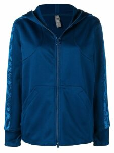 Adidas By Stella Mccartney zip front track hoodie - Blue