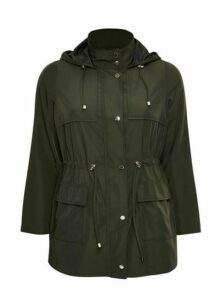 Khaki Lightweight Coat, Khaki