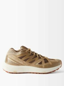Cecilie Bahnsen - Pixie Floral Fil Coupé Organza Dress - Womens - Black Yellow