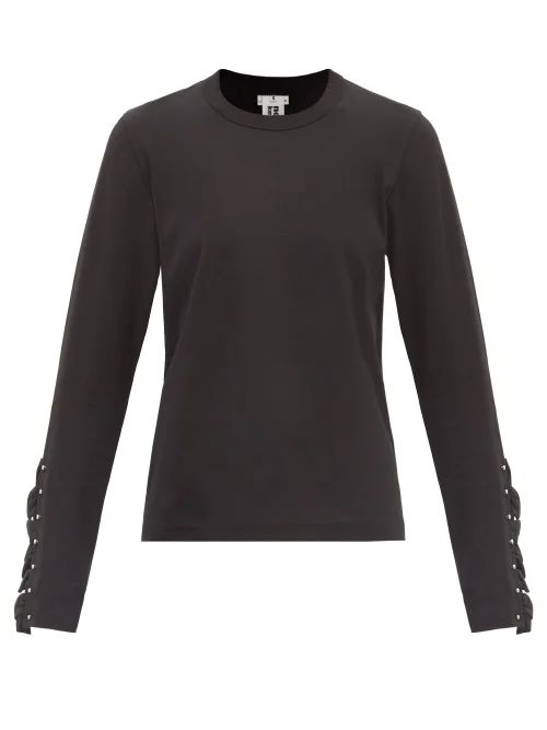 Holiday Boileau - Hardy Striped Stretch Cotton T Shirt - Womens - Red Multi