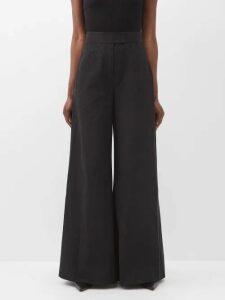 Holiday Boileau - Logo Intarsia Wool Sweater - Womens - Navy
