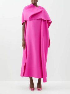 Junya Watanabe - Floral Embroidered Denim Dress - Womens - Blue Multi