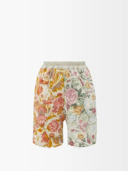 Cecilie Bahnsen - Ruth Tie Back Tiered Faille Dress - Womens - Black