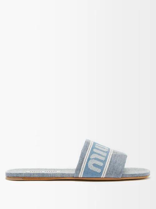 Bottega Veneta - Panelled Leather Skirt - Womens - Burgundy