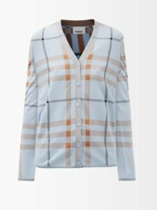 Holiday Boileau - Ivy Single Breasted Cotton Blazer - Womens - Navy