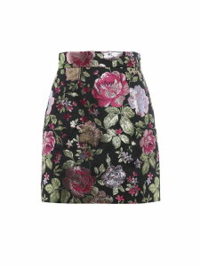 Dolce & Gabbana Floral Pattern Skirt