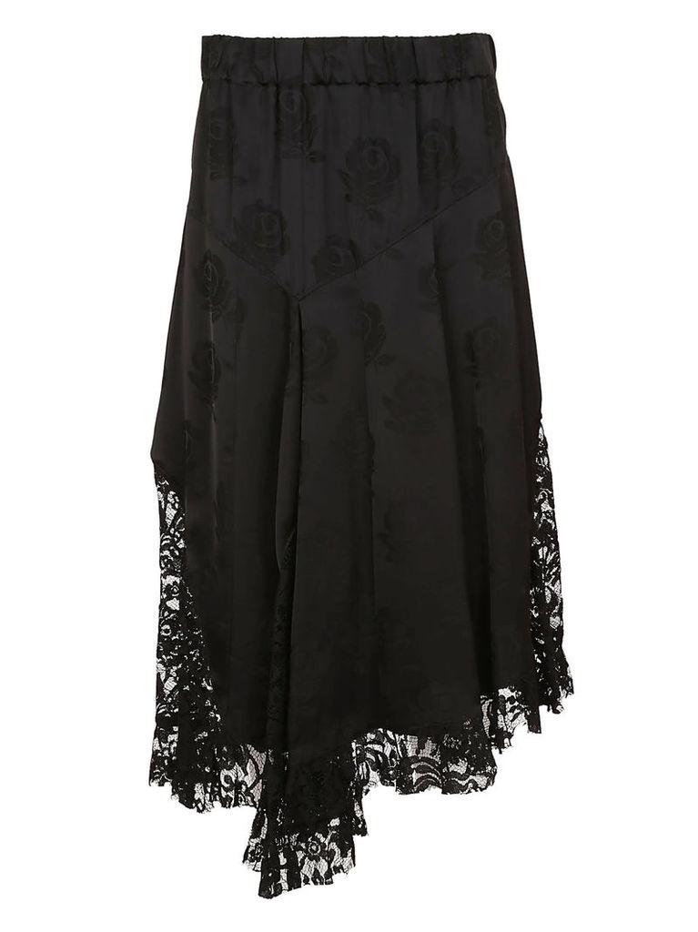 Kenzo Asymmetric Lace Skirt