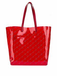 Stella McCartney logo tote bag - Red
