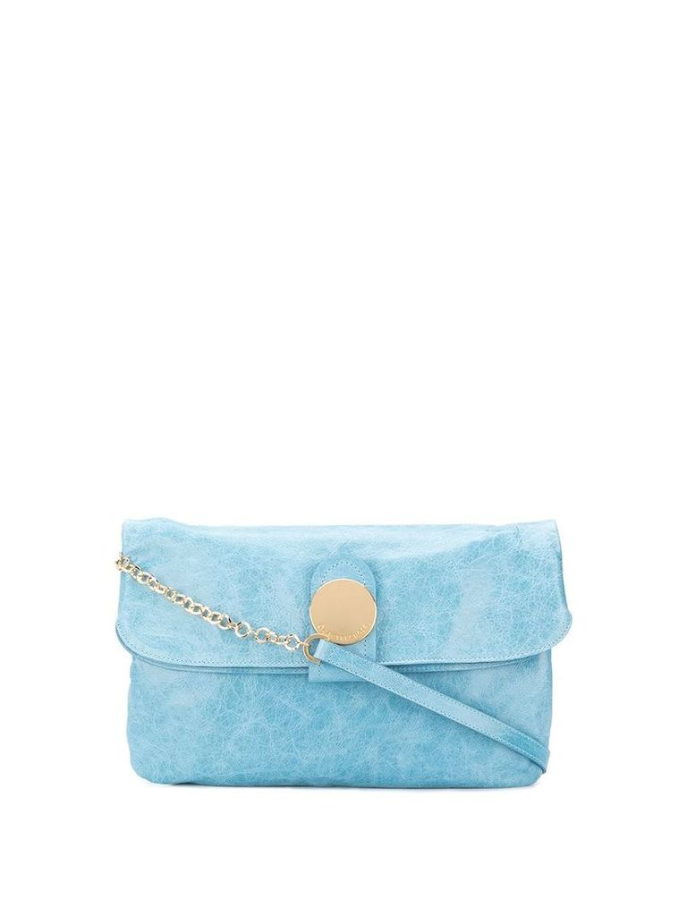 L'Autre Chose chain strap shoulder bag - Blue