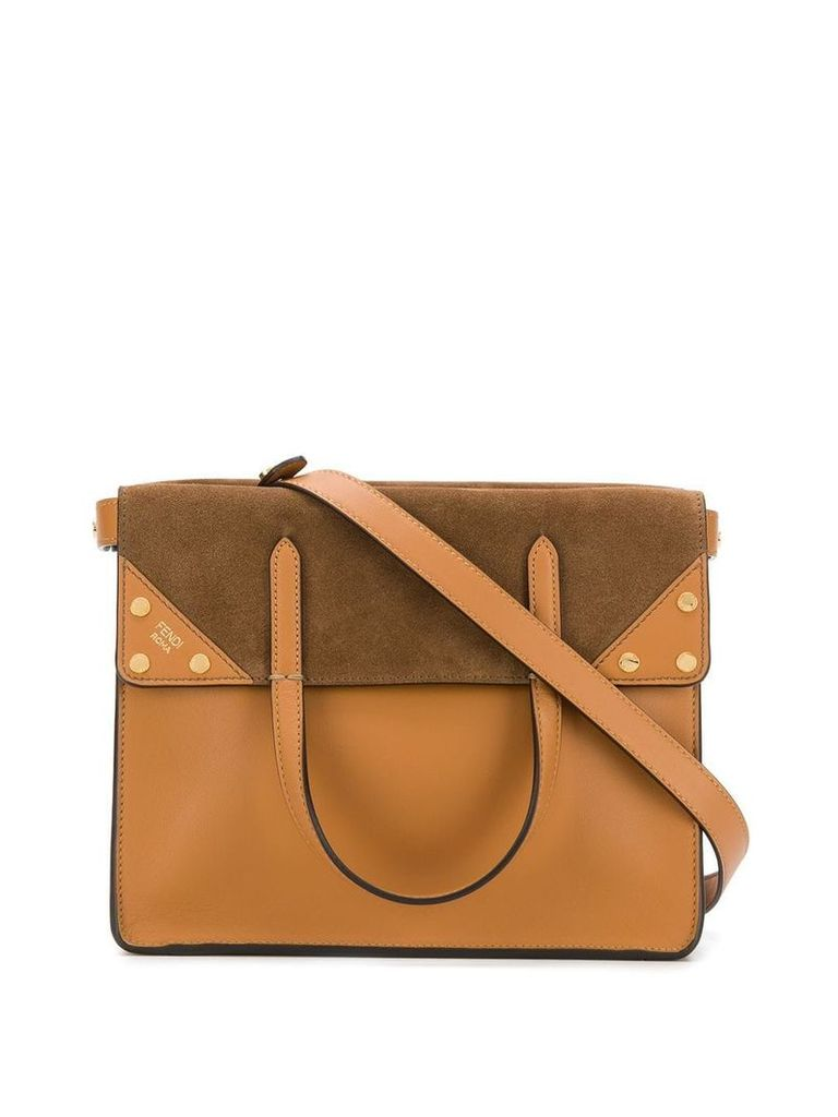Fendi small Fendi Flip tote bag - Brown