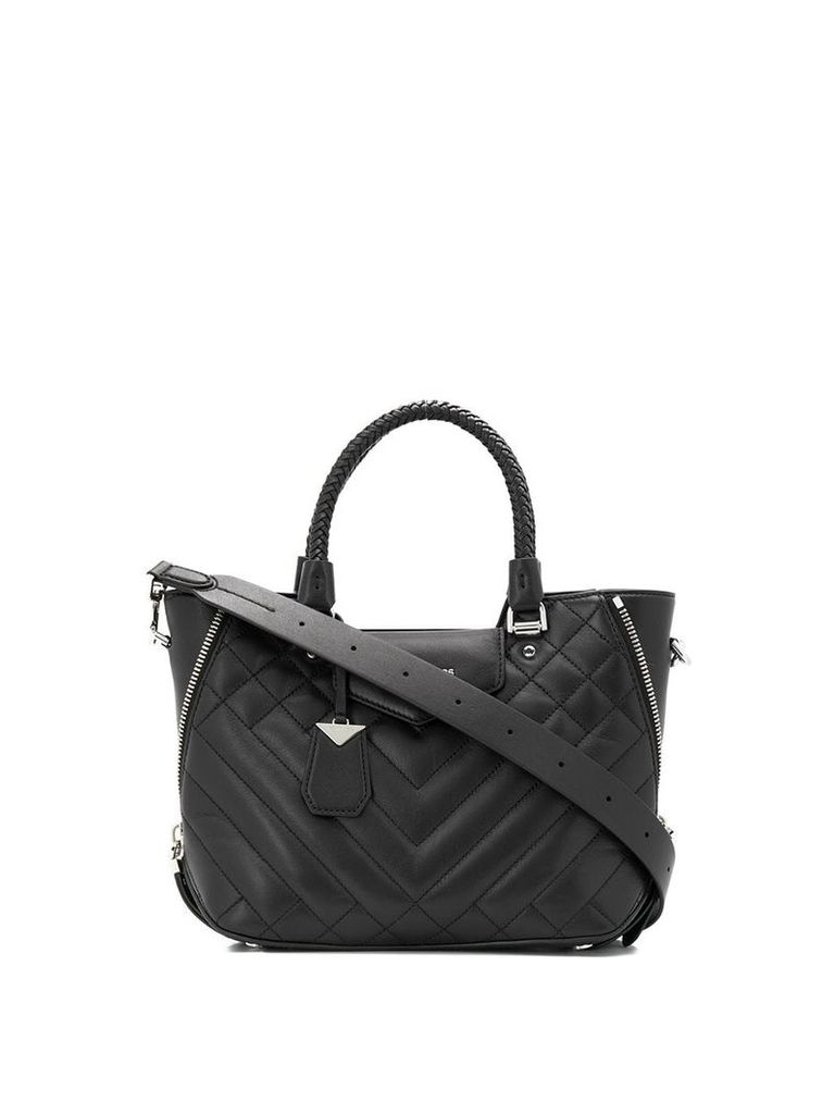 Michael Michael Kors quilted small tote bag - Black