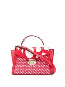 Michael Michael Kors small pattered tote bag