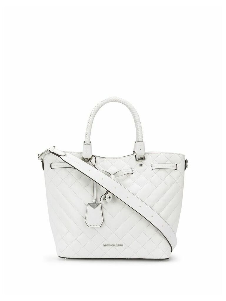 Michael Michael Kors quilted tote bag - White