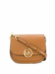 Michael Michael Kors logo shoulder bag - Brown